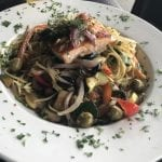 Chef Pasta with Salmon