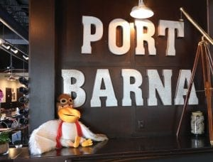 Port Barna Entrance